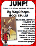 Jump! from the life of Michael Jordan Book Study: Organizers and Inter. NB Pages