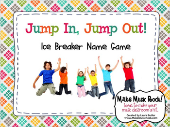 Jump in, Jump Out (Ice Breaker Name Game)
