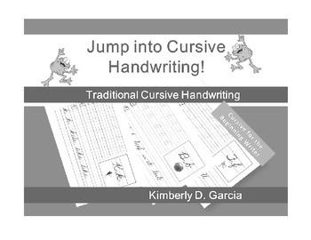 Jump into Cursive Handwriting!