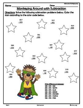 Jump into Subtraction and Estimating Differences
