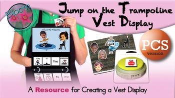 Jump on the Trampoline Vest Display - PCS