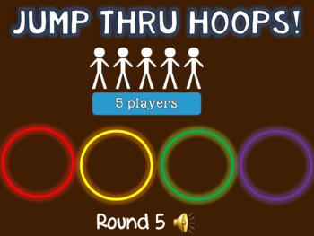 Jump through Hoops!  (Rhythm Dictation)