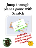 Jump through planes game with Scratch - Freebie