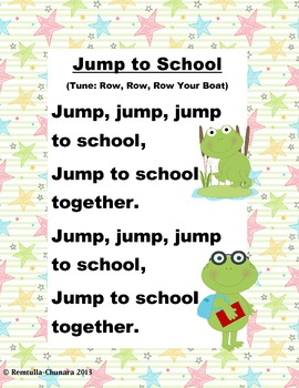 Jump to School Poem