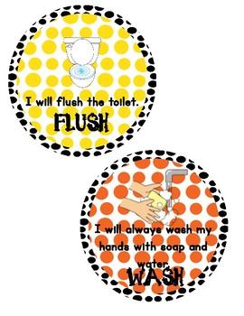 Jumpin Jackson Kindergarten Bathroom Procedures