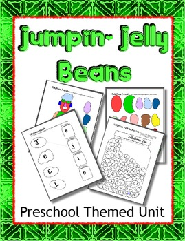 Jumpin' Jelly Beans Preschool theme Letter J - Social Emotion & Diversity