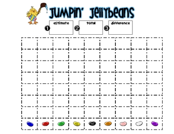 Jumpin' Jellybeans Math Fun: Data Collection and Analysis