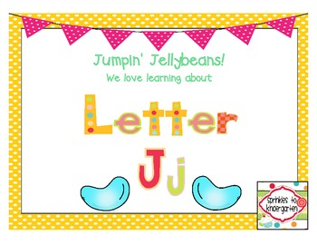 Jumpin' Jellybeans!  We love learning about Letter Jj:  Jj Activities