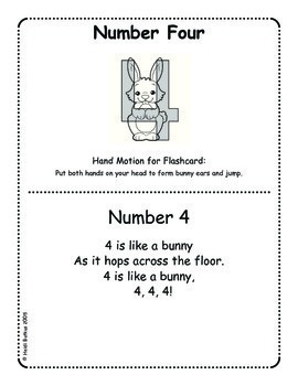 Jumpin' Numbers 0-10 & 9 Basic Shapes Flashcards