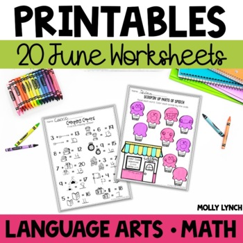 June NO PREP Printables!
