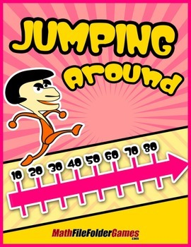Jumping Around {Place Value Game}