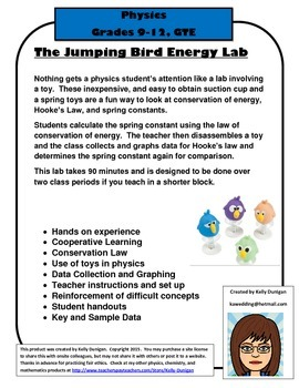 Jumping Bird Energy Lab