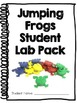 Plastic Jumping Frog Toy Labs, Set of 6, Use for ENERGY Unit!
