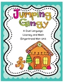 Jumping Gingy - A Dual Language Math and Literacy Gingerbread Man Unit