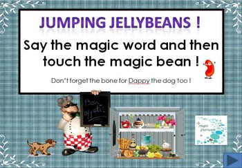 Party Time ! - Jumping jellybeans, cupcakes, pizza, doughnuts sight word primer