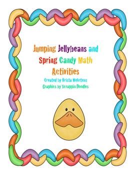 Jumping Jellybeans and Spring Candy Math Activities