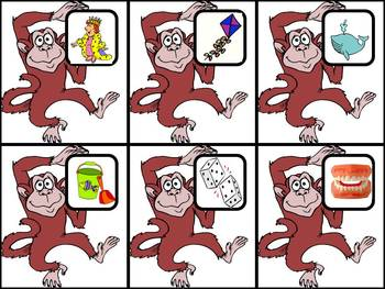 Jumping Monkeys - A Syllable Counting Game