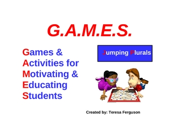 Jumping Plurals GAMES