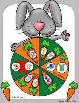 Jumping Rabbit Articulation & Language Game Companion