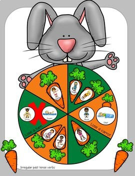 Easter Jumping Rabbit Articulation & Language Game Companion