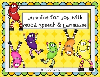 Jumping for Joy with Good Speech and Language