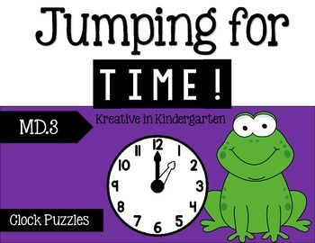 Jumping for Time- Puzzles for hour and half hour