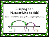 Jumping on a Number Line to Add