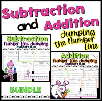 Jumping the Number Line Addition & Subtraction {Bundle}