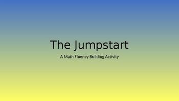 Jumpstart for Math Fluency