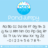 Font for Commercial Use - Pond Jumpy