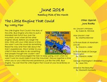 June 2014 Homework Calendar