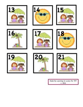 June ABAC Cute Patterned Calendar Cards: Fit Small and Regular Calendars