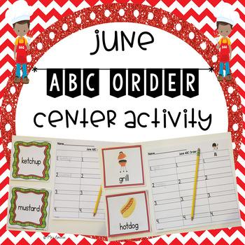 June ABC Order Center