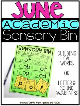 June Academic Sensory Bin