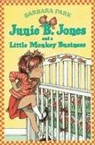 June B. Jones and a Little Monkey Business Book Unit