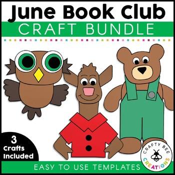 June Book Club {Corduroy, Llama in Pajamas, & Little Owls Night}