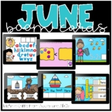 June Boom Cards / Morning Work for Distance Learning