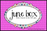 June Box Label