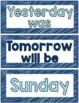 Pattern Calendar Cards for June