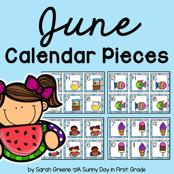 June Calendar Pieces!