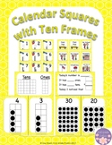 June Calendar Squares with Ten FrameThat Encourages Math Talk