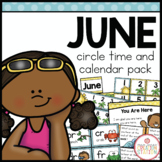 JUNE MORNING MEETING CALENDAR AND CIRCLE TIME RESOURCES