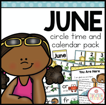 June Circle Time and Calendar Resources