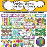 June Clip Art Bundle –Chalkstar Graphics