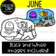 June Clipart {Creative Clips Clipart}