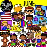 June Clipart {Creative Clips Clipart}