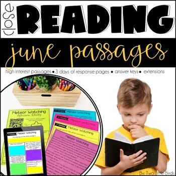 Close Reading Passages & Activities for June