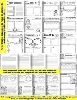 June Close Reading Text Evidence Passage Packet: Summer, Father's Day, & More