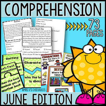 Reading Comprehension Passages & Questions: JUNE EDITION