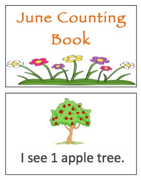 June Counting Books